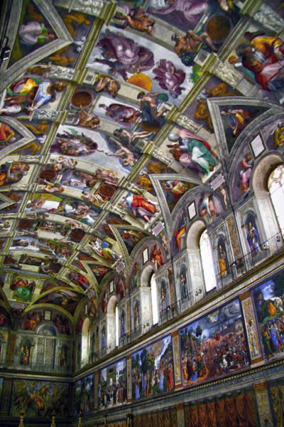 Apostolic Palace Photograph - Sistine Chapel by Mitch Cat