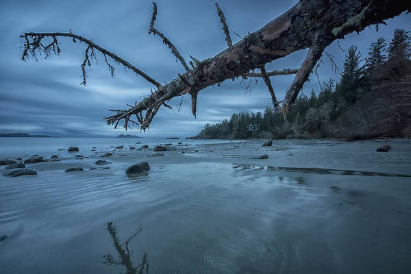 Vancouver Island Photograph - Six Minute Exposure Of The Clouds And by Robert Postma / Design Pics