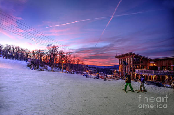 Photograph - Skiing West Virginia At Timberline by Dan Friend