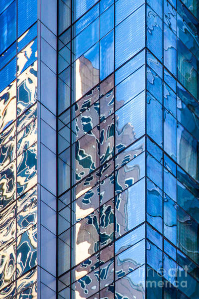 Photograph - Sky Blue Glass by Susan Cole Kelly