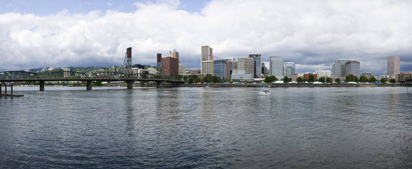 Willamette Photograph - Skyline As Seen From The Vera Katz by Panoramic Images