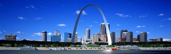 Wall Art - Photograph - Skyline, St Louis, Mo, Usa by Panoramic Images