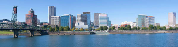 Willamette Photograph - Skylines At The Waterfront, Portland by Panoramic Images