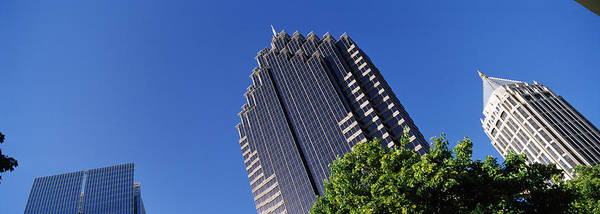Fulton County Photograph - Skyscrapers In A City, Atlanta, Fulton by Panoramic Images