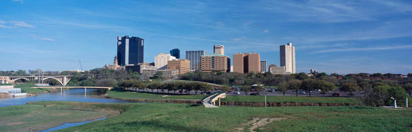 Fort Worth Photograph - Skyscrapers In A City, Fort Worth by Panoramic Images