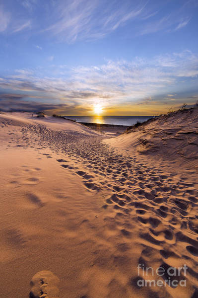 Sleeping Bear Dunes Sunset Art Print by Twenty Two North Photography