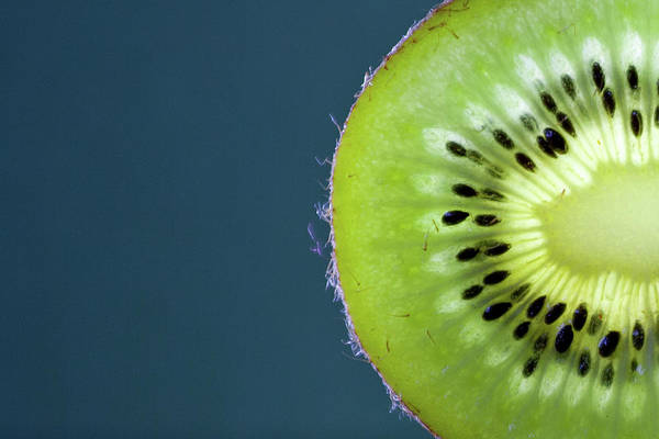 Healthy Lifestyle Photograph - Slice Of Kiwi Fruit by By Felix Schmidt