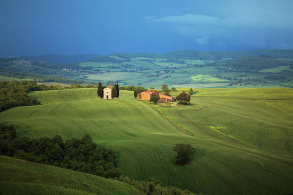 Tuscany Photograph - Small Chapel In Tuscany by Mammuth