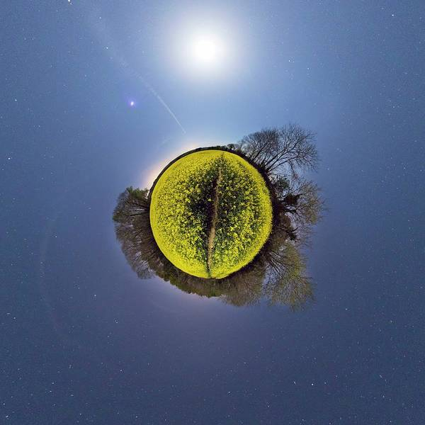 Wall Art - Photograph - Small Planet by Laurent Laveder/science Photo Library