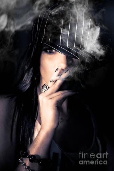 Sneak Photograph - Sneaky Smoke by Jorgo Photography - Wall Art Gallery