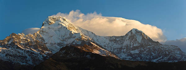 Wall Art - Photograph - Snowcapped Mountains, Hiunchuli by Panoramic Images