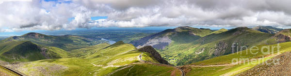 Welsh Photograph - Snowdonia by Jane Rix