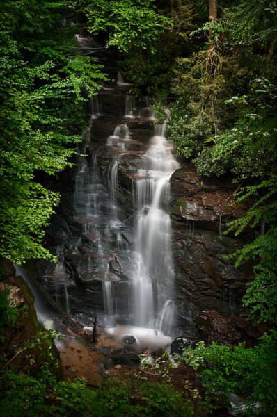 North Carolina Waterfalls Photograph - Soco Falls North Carolina by Steve Gadomski