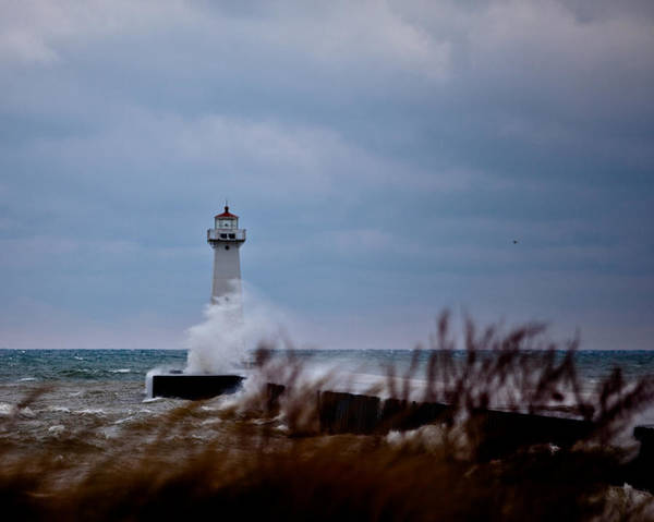 Photograph - Sodus Point Lighthouse by Chris Babcock