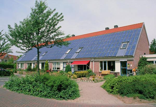 Solar Panels Photograph - Solar Panels by Martin Bond/science Photo Library