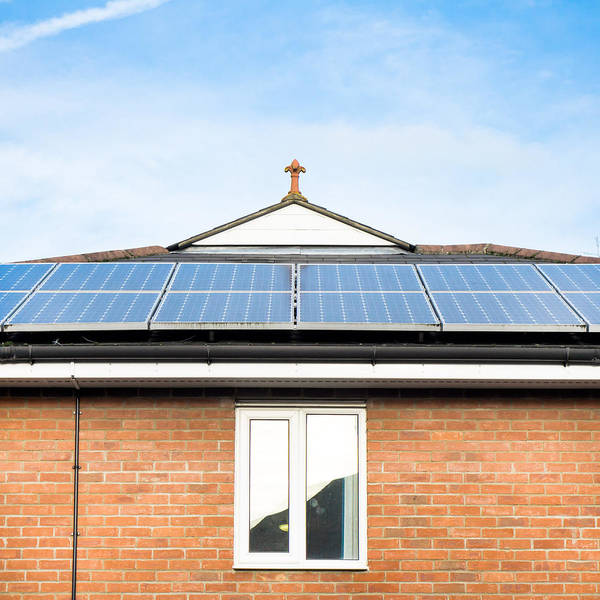 Eco-system Photograph - Solar Panels by Tom Gowanlock