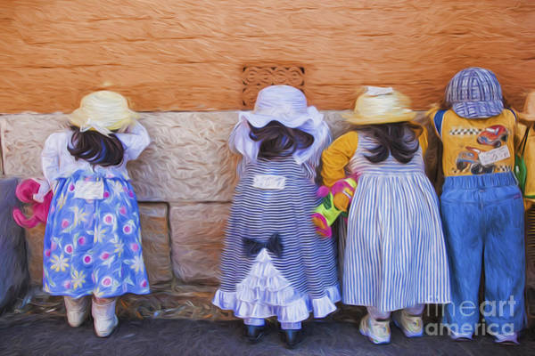 Wall Art - Photograph - Someone Has Stolen Dolly by Sheila Smart Fine Art Photography
