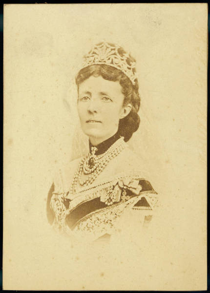 Wall Art - Photograph - Sophia Wilhelmina Of Nassau  Wife by Mary Evans Picture Library