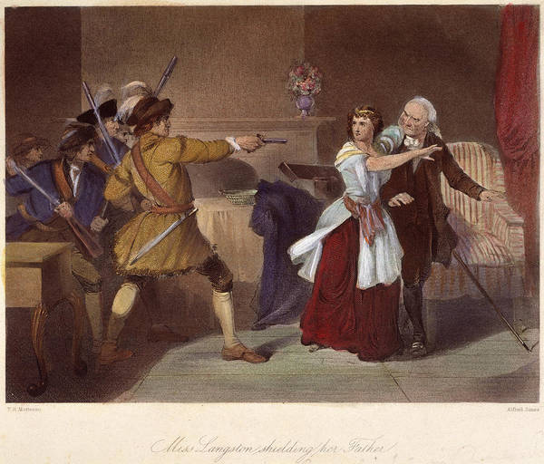 Militiaman Photograph - South Carolina: Loyalists by Granger
