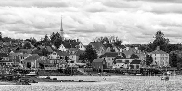 Lobstering Photograph - South End And North Church by Scott Thorp