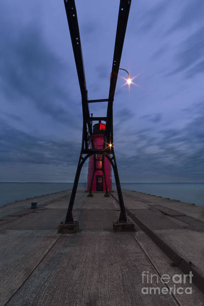 South Haven Wall Art - Photograph - South Haven Lighthouse by Twenty Two North Photography