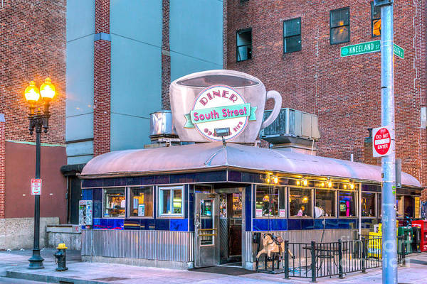 Photograph - South Street Diner by Susan Cole Kelly