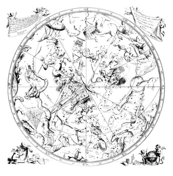 Zodiac Wall Art - Photograph - Southern Constellations by Royal Astronomical Society/science Photo Library