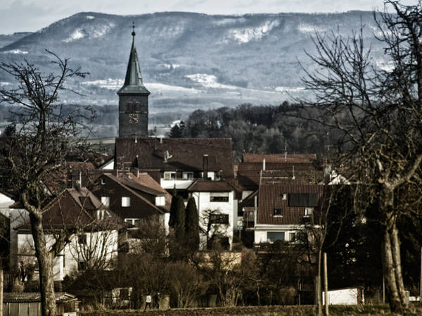 Photograph - Small Village Town by Miguel Winterpacht
