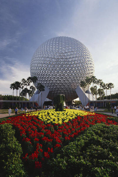 Wall Art - Photograph - Spaceship Earth, Epcot Center by F. Stuart Westmorland