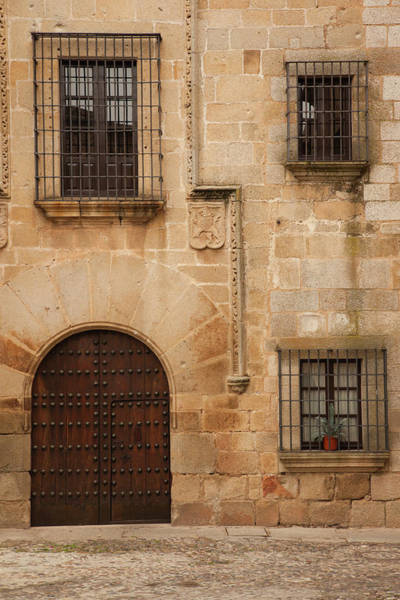 Central Europe Wall Art - Photograph - Spain, Extremadura Region, Caceres by Walter Bibikow