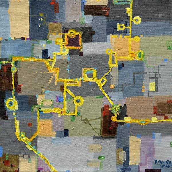 Painting - Span by Regina Valluzzi