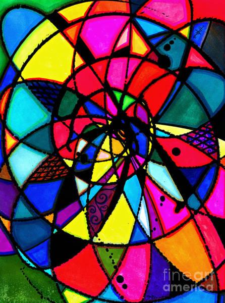 Drawing - Spiral by Joey Gonzalez