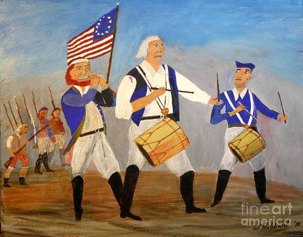 Fife Painting - Spirit Of Seventy Six by Bill Hubbard
