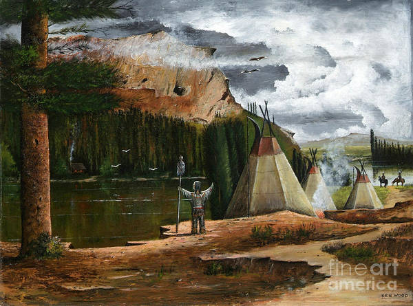 Painting - Spiritual Home by Ken Wood