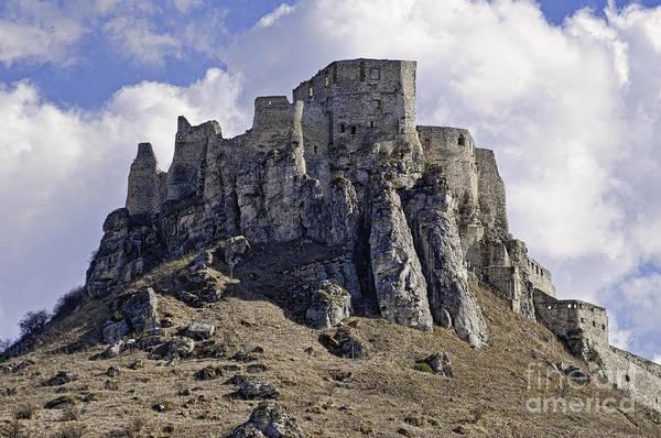 Photograph - Spissky Hrad Castle by Les Palenik