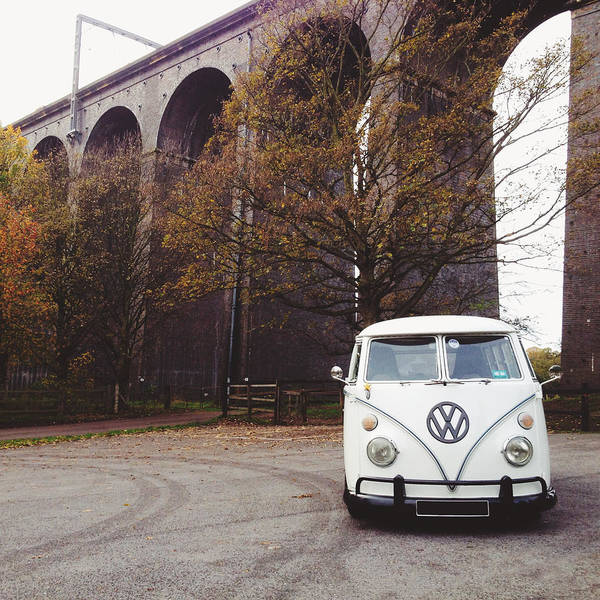 Splitty By The Viaducts Art Print