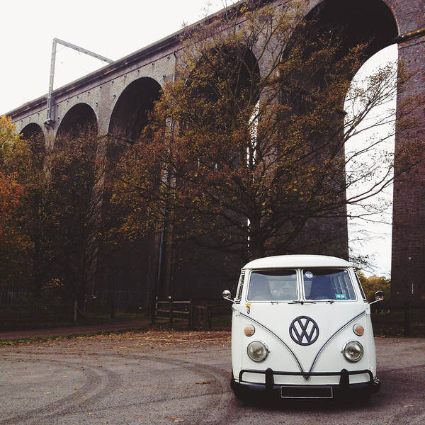 Splitty By The Viaducts II Art Print