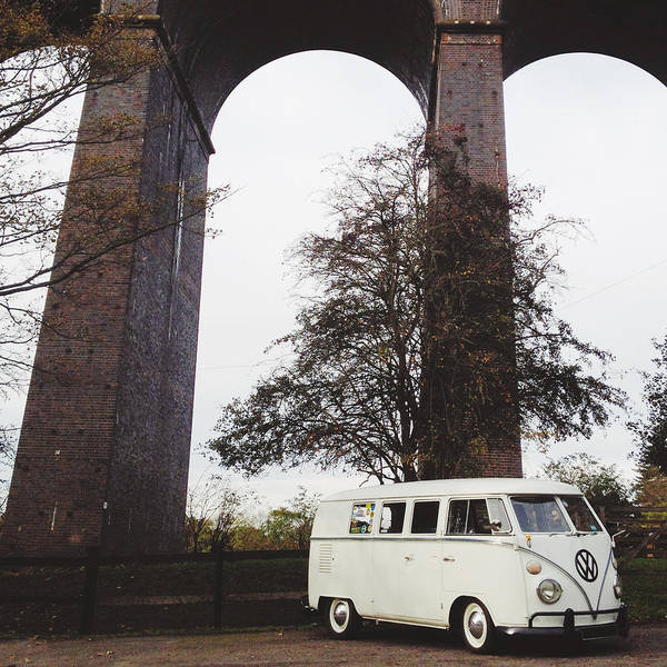Splitty By The Viaducts IIi Art Print