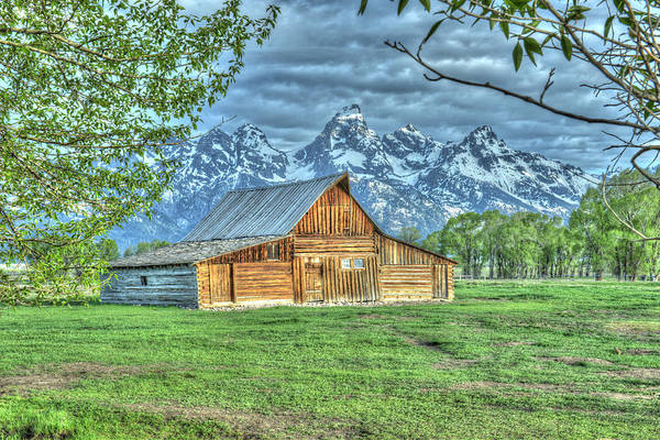 Photograph - Spring Barn by David Armstrong