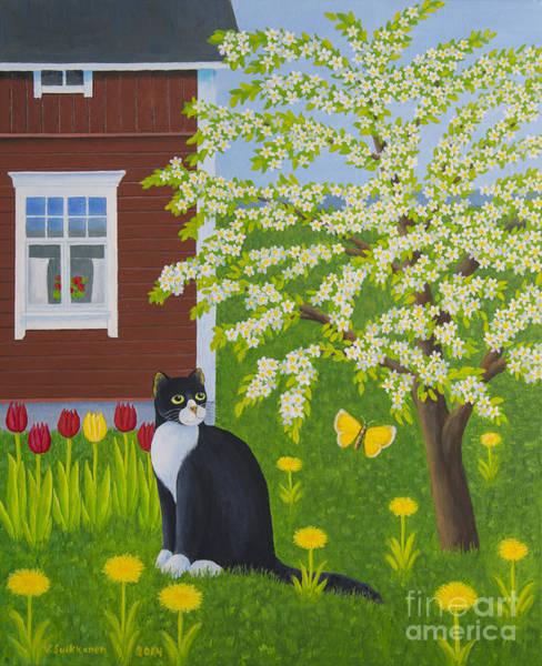 Wall Art - Painting - Spring by Veikko Suikkanen