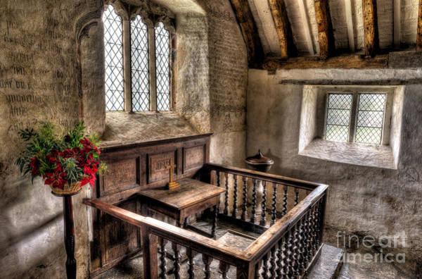 Wooden Church Wall Art - Photograph - St Celynnin Church by Adrian Evans