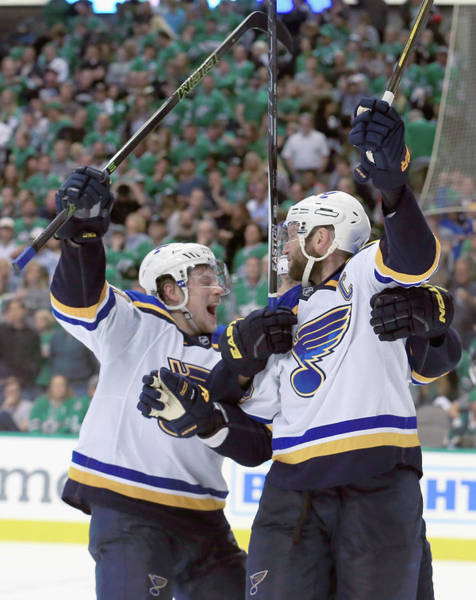 Stanley Cup Playoffs Photograph - St Louis Blues V Dallas Stars - Game Two by Tom Pennington