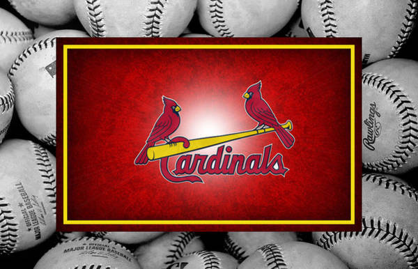 Outfield Wall Art - Photograph - St Louis Cardinals by Joe Hamilton