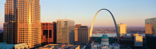Rise Above Wall Art - Photograph - St. Louis Skyline by Panoramic Images