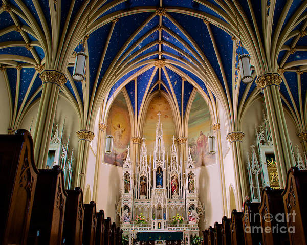 Photograph - St Marys Church Annapolis Md Chapel by Mark Dodd