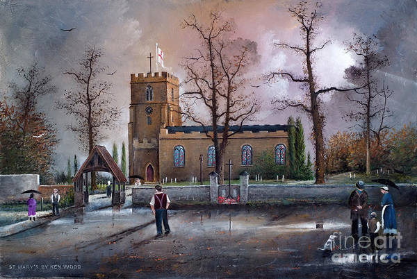 St Marys Church - Kingswinford Art Print