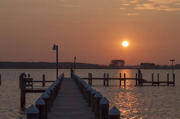 Wall Art - Photograph - St Marys County Maryland Sunrise by Bill Cannon