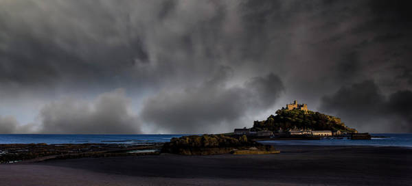 Cornwall Photograph - St Michael's Mount by Martin Newman