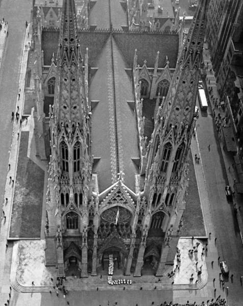 Procession Photograph - St. Patrick's Cathedral by Underwood Archives