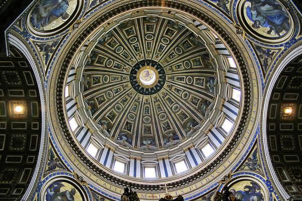St. Peter's Basilica Dome Art Print